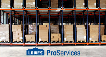 Order in bulk with lowes
