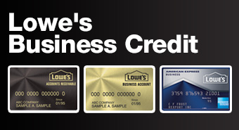 Save 5% everyday at LowesForPros Business Credit