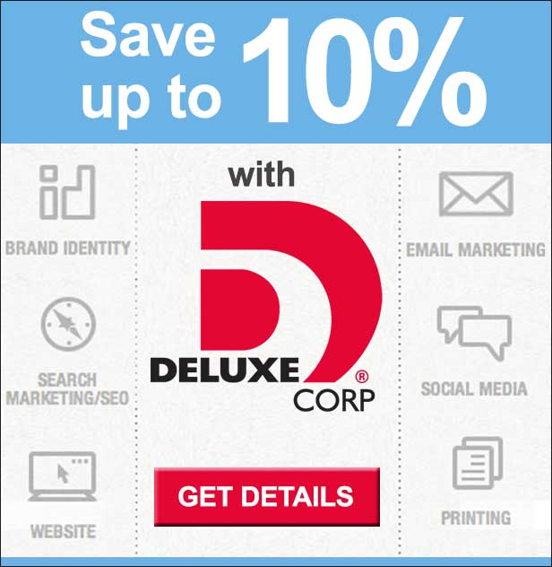 Save up to 10% with Deluxe