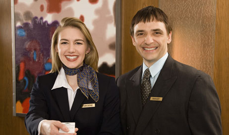 Learn about the benefits of hotel management from Lowes